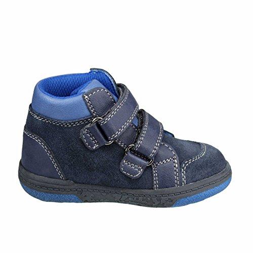 Lurchi 33-14599-22 Björn, Sneaker bambini 33 Dunkelblau