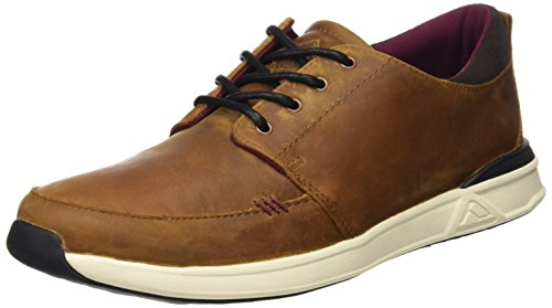 Reef Ra2xmrbro, Sneakers Basses Homme Marron