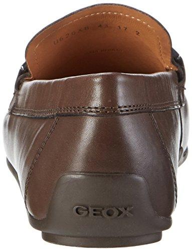 Geox Herren U Giona B Mokassin, Braun (Ebonyc6027), 39 EU -