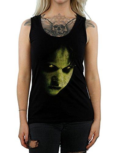The Exorcist Femme Regan Face Tank Top Noir