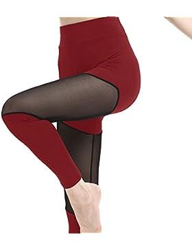 Longra Leggings da donna con p