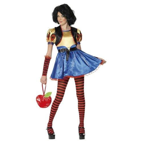Sexy Snow White Schneewittchen Kostüm für Mädchen Damen Damenkostüm Mädchenkostüm Märchen Gr. XS, 158, Größe:XS