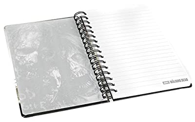 Carnet de notes Walking Dead Rick Grimes A5 ligné couverture rigide