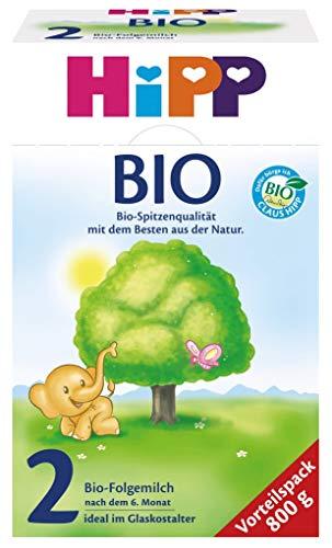 Hipp Orgánica 2 leche continuación - partir 6 meses