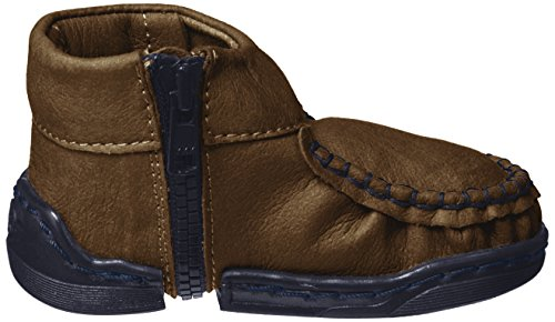 Walkkings Unisex Baby Zip Around Lauflernschuhe Braun (Cinnamon Sparkles)