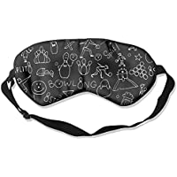 Sleep Eye Mask Bowling Game Lightweight Soft Blindfold Adjustable Head Strap Eyeshade Travel Eyepatch preisvergleich bei billige-tabletten.eu