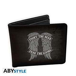 AbyStyle Abysse Corp _ abybag233 Walking Dead – Brieftasche – Daryl Flügeln – Vinyl