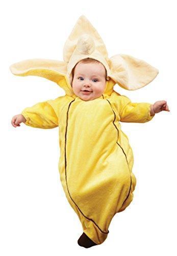 (Underwraps - Baby Bananen Anzug mit Reißverschluss - Kostüm Größe: 68)