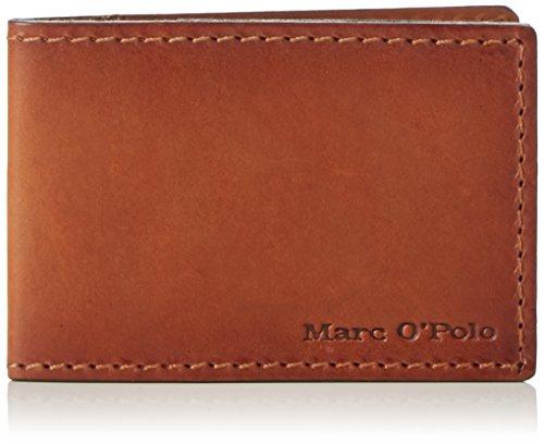 Marc O'Polo Herren Card Holder Ausweis-& Kartenhüllen, Braun (Cognac 720), 9x6x1 cm
