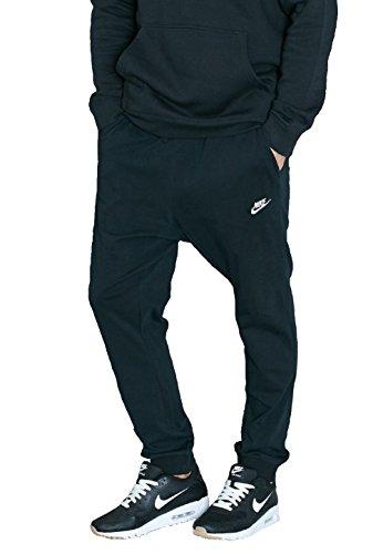 Unbekannt - Pantalon - Homme noir/blanc