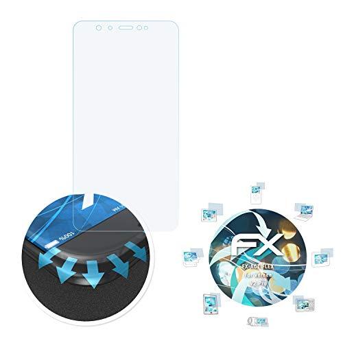 atFolix Schutzfolie passend für Vernee V2 Pro Folie, ultraklare & Flexible FX Bildschirmschutzfolie (3X)