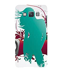 iFasho Girl dancing with music box Back Case Cover for Samsung Galaxy A5