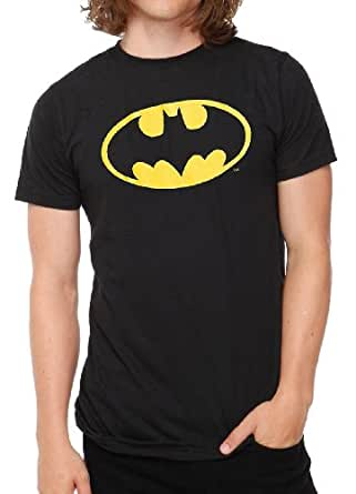 "SnS Online Bat man Mens Jungen Damen Damen Mädchen Unisex T-Shirt T-Top Cotton Batman T-Shirt - Charcoal grau (Charcoal Grey) - L - Brustumfang : 42"" - 44"" - Schwarz (Black) - XL - Brustumfang : 46"" - 48"""