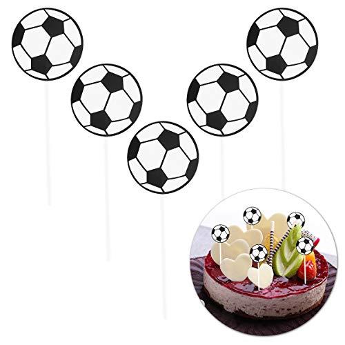 ußball Kuchen Topper, Fußball Thema Jäten Geburtstagsfeier Cake Topper Dekoration ()