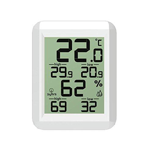 D.ragon Thermometer Temperatur Feuchtigkeits Anzeige Innentemperatur-Feuchtigkeits Messinstrument (ohne Batterie) Grand