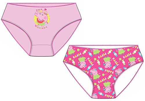 Jujak Girls Brief Knickers Pants - Cotton - Pack Of 2