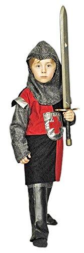 faschingskostuem ritter Ritter Erwann Kostüm Kinder Rot Gr. 128