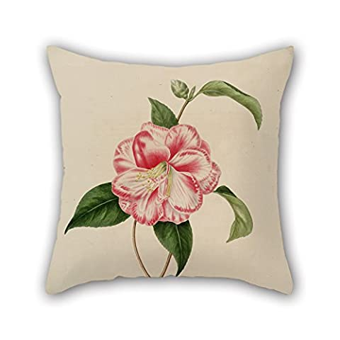 Uloveme Flower Pillow Cases ,best For Gril Friend,teens Boys,wedding,pub,him,indoor 18 X 18 Inches / 45 By 45 Cm(two