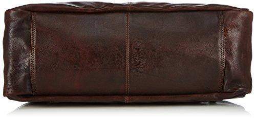 Borsa Da Cowboy Dakota 1366 Unisex-erwachsene Henkeltaschen 50x36x20 Cm (bxhxt) Braun (marrone 500)