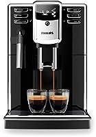 Macchina caffè espresso - potenza 2100 watt - macina caffè incorporato - caffè grani - serbatoio 1,8 lt - colore nero