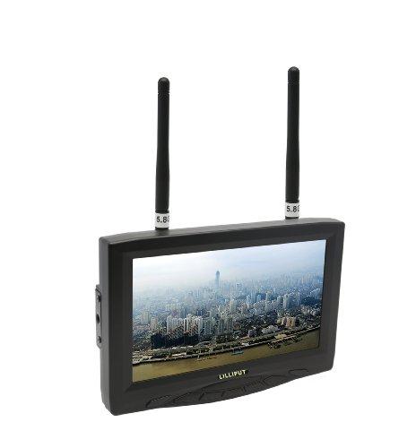 Lilliput 329/DW, 7' (800x480) FPV Monitor mit Dual Wireless AV Receiver