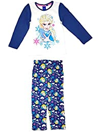 e6114ed952 Disney Frozen Eisprinzessin – Zweiteiliger Kinder Schalfanzug Pyjama  Nachthemd 100% Baumwolle - schönes Geschenk für