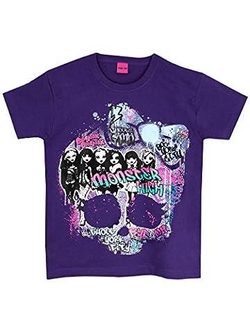 Monster High Shirts - Monster High - T-Shirt à Manches Courtes