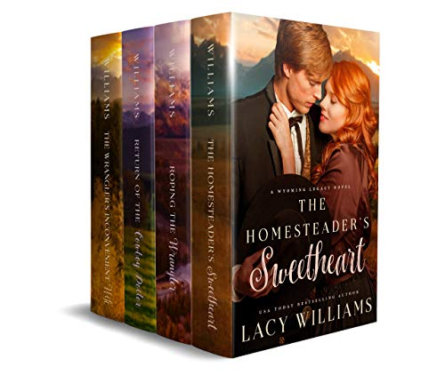 Wyoming Legacy Boxed Set: Volumes 1-4 (Lacy Williams Box Sets Book 5) (English Edition)