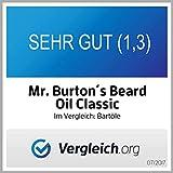 Mr. Burton´s Beard Oil – Bartöl CLASSIC – unverwechselbarer Duft – 50ml Bart Öl für die Bartpflege Made in Germany mit Arganöl Tierversuchsfrei - 3