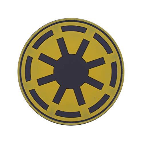 Cobra Tactical Solutions Military PVC Patch Star Wars Galaktische Republik Gelb mit Klettverschluss für Airsoft/Paintball für Taktische Kleidung/Rucksack (Star Wars Pvc-patch)