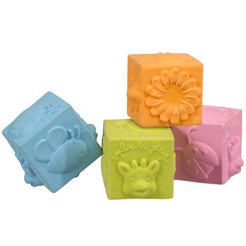 Sophie die Giraffe So Pure Natur Gummi Cubes (Mehrfarbig)