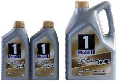 Mobil-1-New-Life-0W-40-Olio-100-tre-sintetico-confezione-da-7-litri-1-x-5-litri-2-x-1-litro