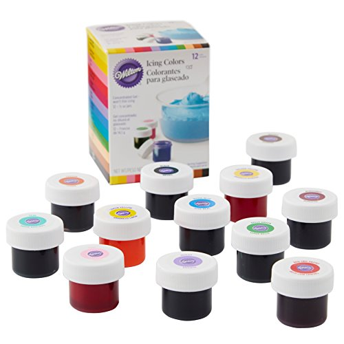 Wilton Icing Colors .5oz 12/Pkg