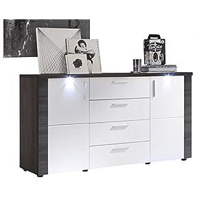 trendteam smart living wohnzimmer sideboard kommode schrank xpress 150 x 82 x 42 cm in