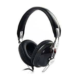 Panasonic Retro Monitor Over-Ear Headphones for iPod, iPhone, MP3 and Smartphone - Black