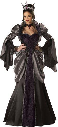 Womens Wicked Queen Fancy dress costume X-Large (White Queen Fancy Dress Kostüm)