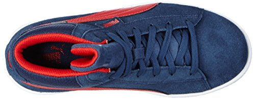 Puma - Puma 1948 Mid Gtx® Jr, Sneaker Unisex – Bambini Blu (Blau (dark denim-high risk red 04))