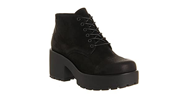 9307f01b90 Vagabond Dioon Lace Up Boot Black Nubuck Exclusive - 6 UK  Amazon.co.uk   Shoes   Bags
