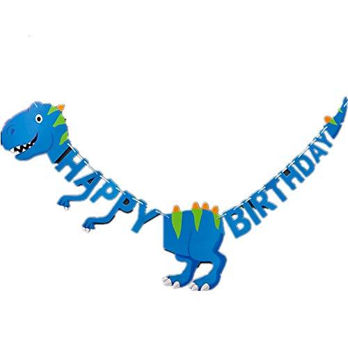 KANKOO Herzlichen Glückwunsch Zum Geburtstag Tierdekorationen Geburtstagsfeier-Flaggen-Feiertags-Fahnen-Dekoration Girlande Papierschnur 3