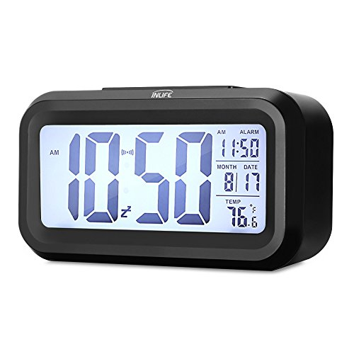 Despertador digital INLIFE LED Digital Alarma