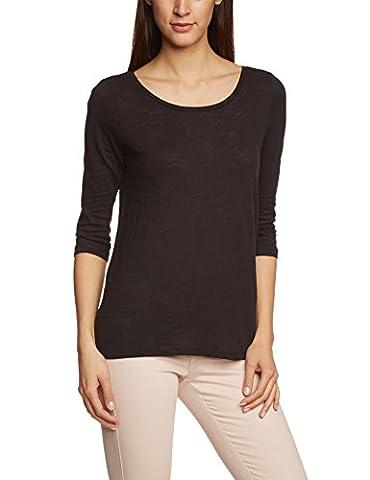 ONLY - T-shirt - Manches 3/4 Femme - Noir - XL