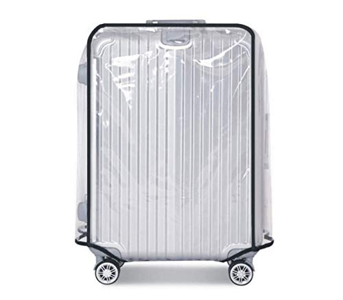 Maoning Transparent Plastic Luggage Trolley Protective Covers Waterproof for 18-30-inch...