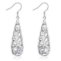 Swarovski Elements 925 Sterling Silver Earrings for Females Women Ladies Girl friend Gift J.Rosée  Jewelry JR493