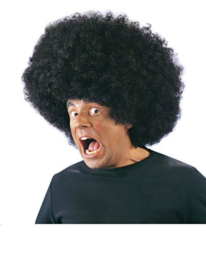 Enter-Deal-Berlin PERÜCKE - Big Jimmy - schwarz, Afro Look Musiker Sänger Karibik Soul (Soul Und Blues Kostüme)