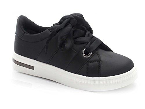 Oui Fashion Ladies Sneaker Nero