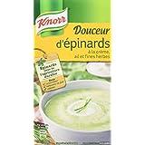 Knorr Soupe Douceur d'Épinards à la Crème/Ail et Fines Herbes 1 L -