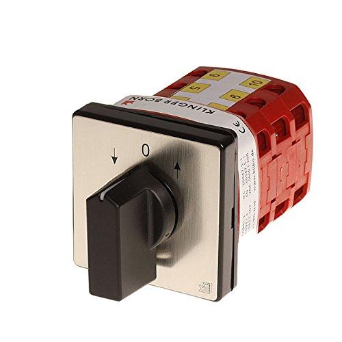 AUF/AB-Schalter Wendeschalter KB-N16 16A AC-3 400V/7,5kW -