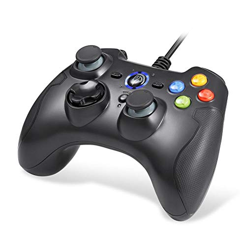 iBellete easysmx Wired Gamepad Joystick Dual Shock geeignet für Windows/Android/PS3/TV Box esm-9100 -