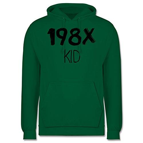 Shirtracer Geburtstag - 198X Kid Vintage - XS - Grün - JH001 - Herren ()