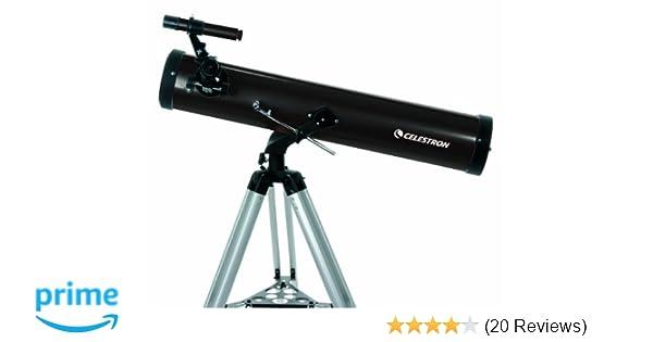 Celestron mm powerseeker reflector telescope amazon